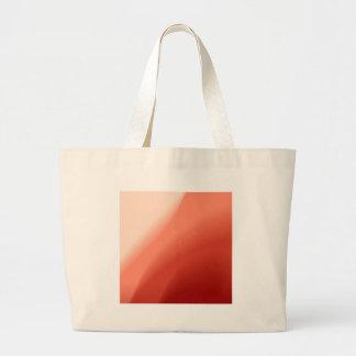 Fluxo abstrato das cores bolsa de lona