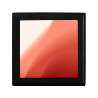 Fluxo abstrato das cores estojo para jóia