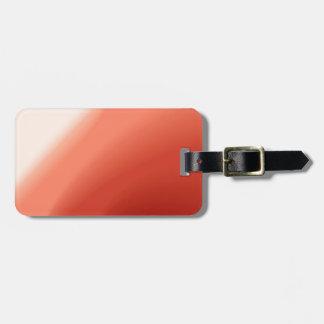 Fluxo abstrato das cores tag de bagagem