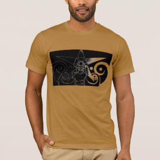 Fluxo cósmico t-shirt