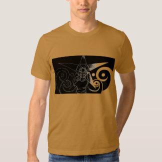 Fluxo cósmico tshirts