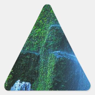 Fluxo de Willamette do proxy da cachoeira Adesivos Em Forma De Triângulo
