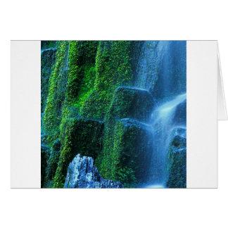 Fluxo de Willamette do proxy da cachoeira Cartão