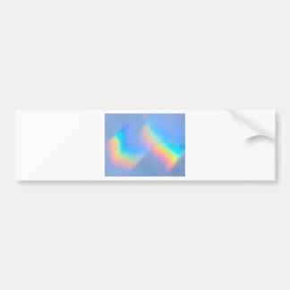 Fluxo do espectro adesivo para carro