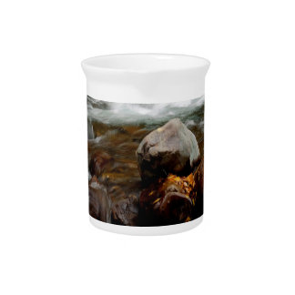 Fluxo do rio da água Seaward Jarro Para Bebida