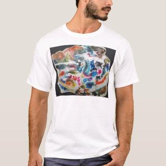 Fluxos coloridos camiseta