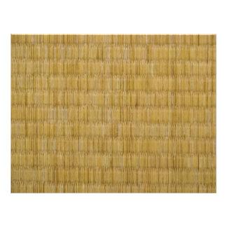 Flyer 畳 da esteira de Tatami