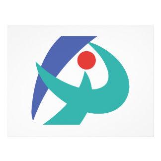 Flyer Bandeira de Iga, Mie, Japão