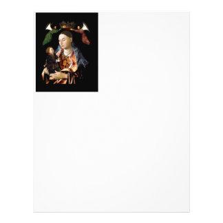 Flyer Salgando Madonna e a criança do cristo