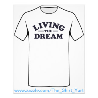 Flyer Vivendo o sonho