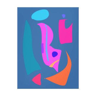 Fogo Impressão Em Canvas