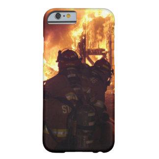 Fogo de combate ao fogo da estrutura capa barely there para iPhone 6