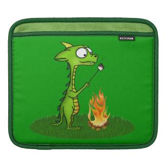 Fogo do dragão bolsas para iPad