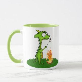 Fogo do dragão caneca