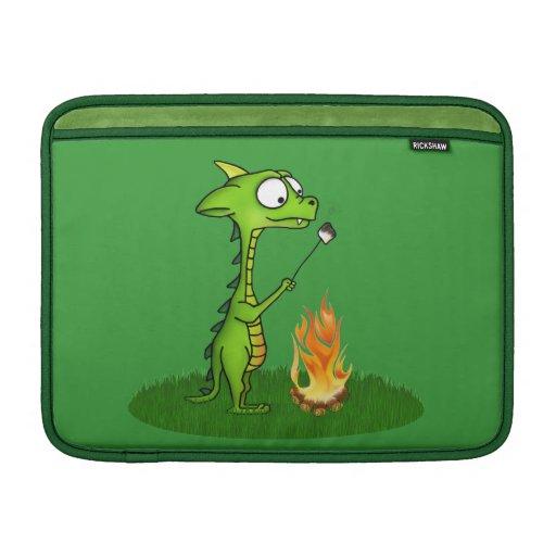 Fogo do dragão bolsas de MacBook air