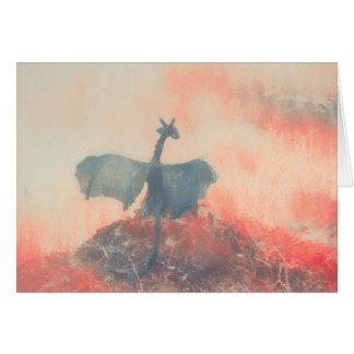 Fogo do dragão cartão