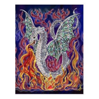 Fogo do dragão cartão postal