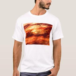Fogo do dragão t-shirt