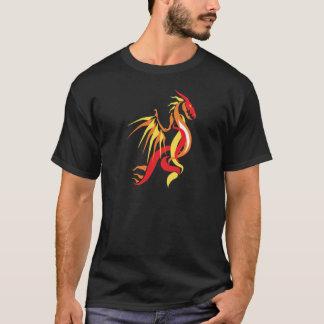 Fogo do dragão t-shirts