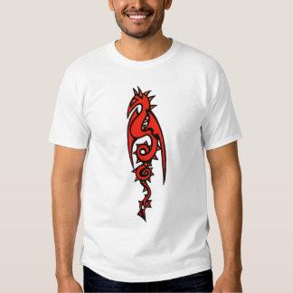 Fogo do dragão tshirt