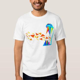 Fogo dos dragões camisetas