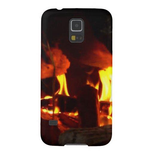 FOGO: Lareira da lareira Capas Personalizadas Galaxy S5