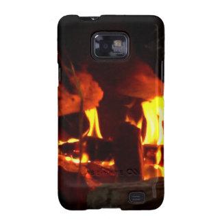 FOGO: Lareira da lareira Capas Samsung Galaxy S2