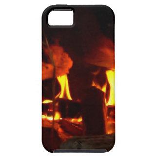 FOGO: Lareira da lareira iPhone 5 Capas