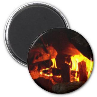 FOGO: Lareira da lareira Ima De Geladeira