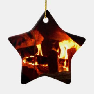 FOGO: Lareira da lareira Enfeites Para Arvores De Natal