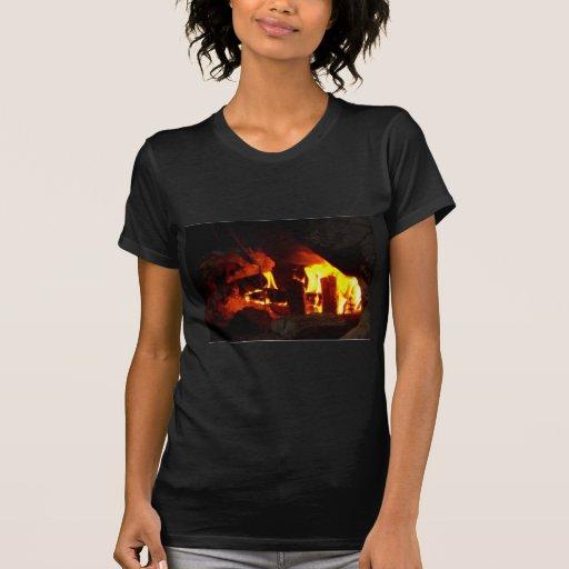 FOGO: Lareira da lareira Tshirts
