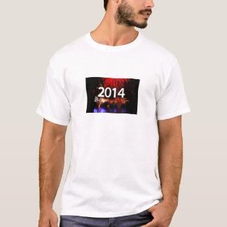 Fogos-de-artifício 2014 t-shirt