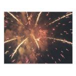 Fogos-de-artifício! Cartão Postal