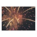 Fogos-de-artifício! Cartoes