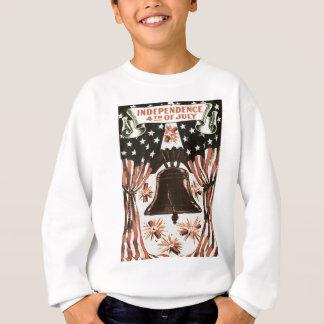 Fogos-de-artifício de Bell da independência da T-shirt