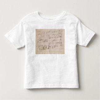 Folha da contagem 'do luar Sonata Camiseta Infantil
