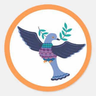 Folha da etiqueta do pombo (6)