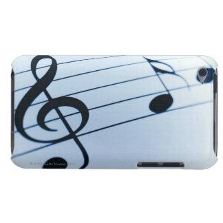Folha de música capas iPod touch