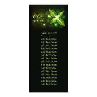 Folha verde de 311 Eco 10.16 X 22.86cm Panfleto