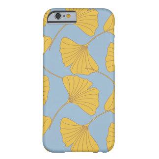 Folhas de Ginko Biloba da nogueira-do-Japão da Capa Barely There Para iPhone 6