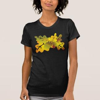 folhas do carvalho t-shirt