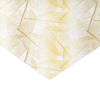 Folhas do ouro - lenço de papel