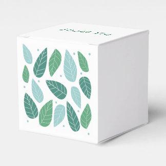 Folhas do primavera do divertimento caixinhas de lembrancinhas para casamentos