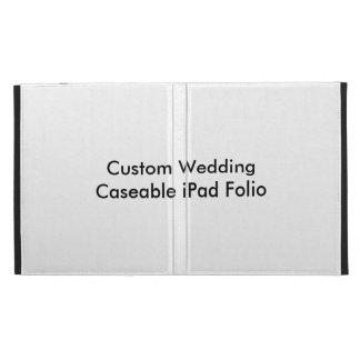 Fólio Wedding feito sob encomenda do iPad de