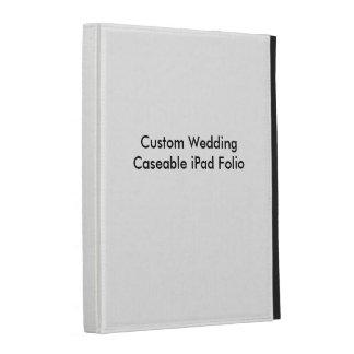 Fólio Wedding feito sob encomenda do iPad de Casea