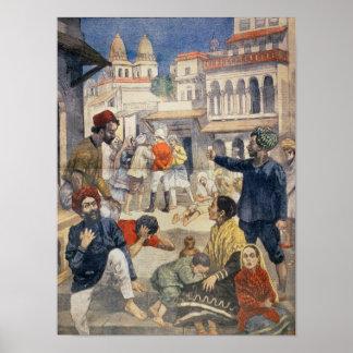 Fome em India Poster