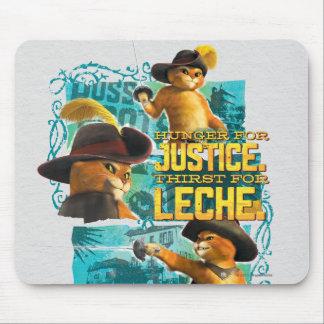 Fome para justiça mousepad