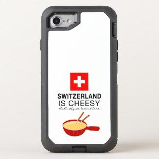 Fondue suíço engraçado capa para iPhone 7 OtterBox defender