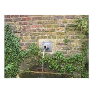 Fonte de água fotografia