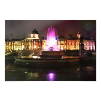 Fonte do quadrado de Trafalgar Impressão De Foto